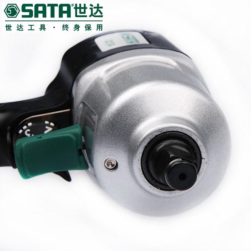 世达气板机工具1/2寸复合材料大扭力气动冲击扳手风炮风扳手02134