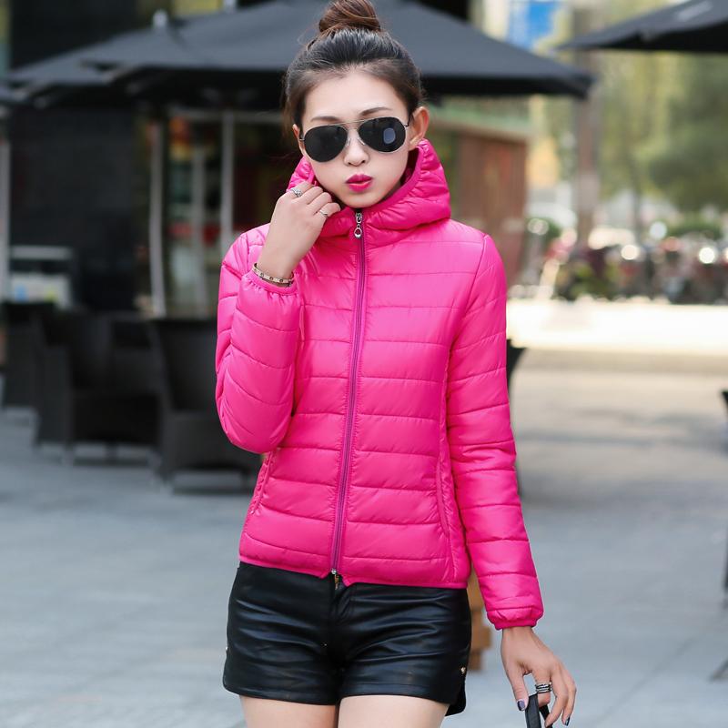 冬短款女装外套冬季