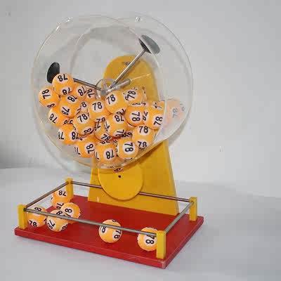 选号机手动摇号机摇奖机球抽奖转盘自写球选号机自动手摇出球