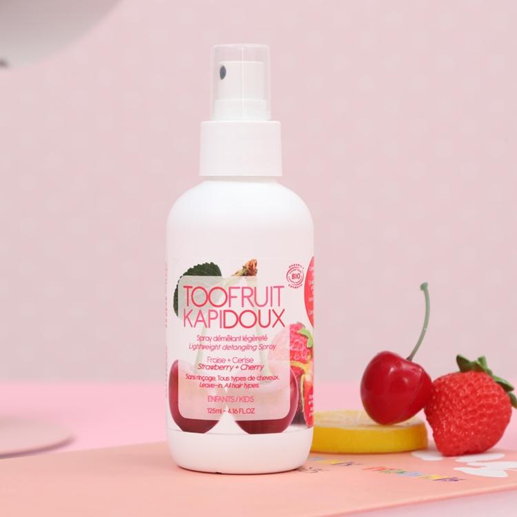 法国toofruit多果肤有机儿童护发素女孩洗发天然顺滑改善毛躁免洗