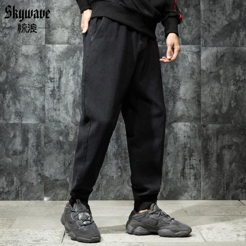 冬季嘻哈褲男
