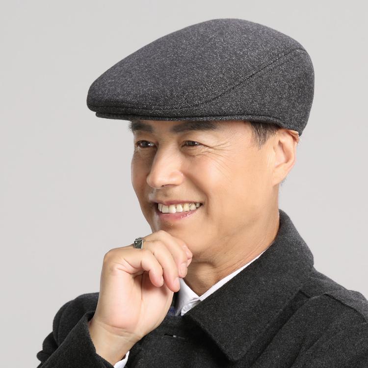 中年男帽子秋冬季