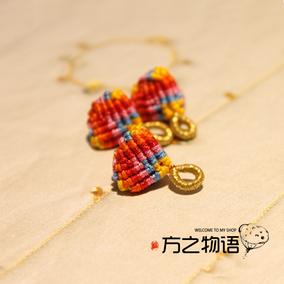 端午节小粽子手绳材料包 DIY手工编织 视频教学 新品手作