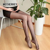 Ultra-thin pregnant women stockings summer thin section bottoming socks stomach lift pantyhose postpartum anti-hook pregnancy invisible summer