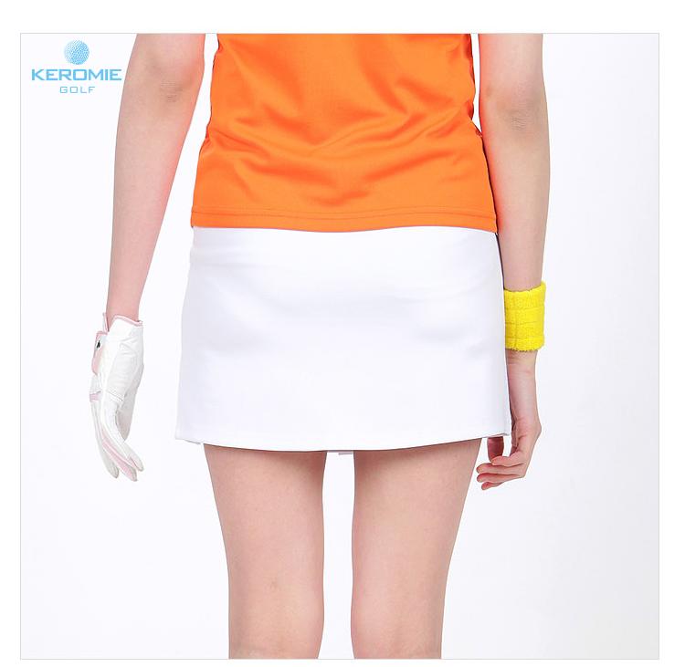 高尔夫短裙女夏 防走光裙子golf球服衣服女短裙裤半身裙运动A字裙