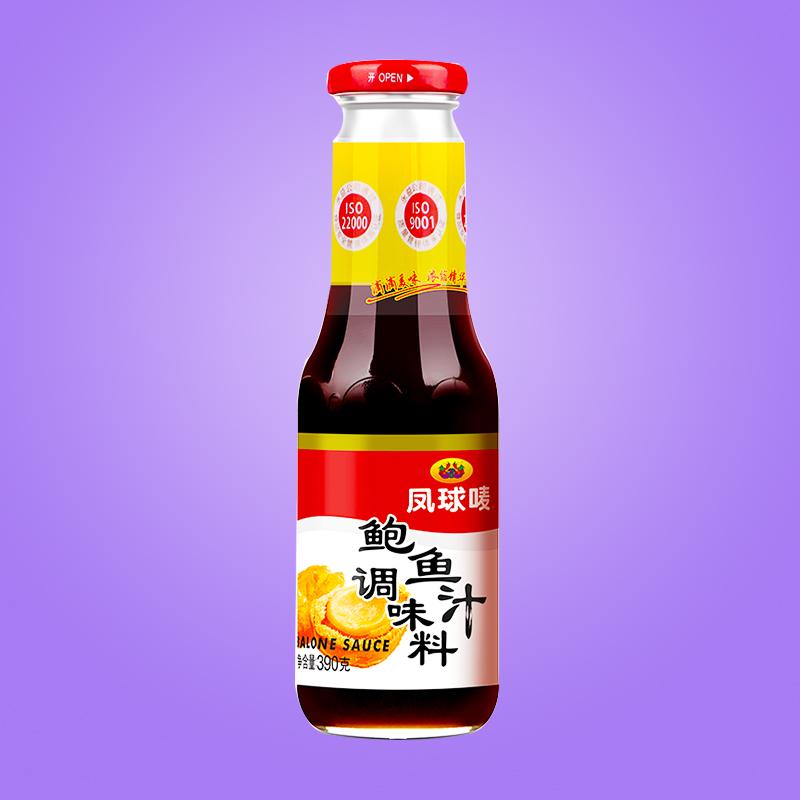 凤球唛鲍鱼汁390g蒸鱼炒菜即食海参鲍汁调味品捞饭拌面酱料海鲜汁