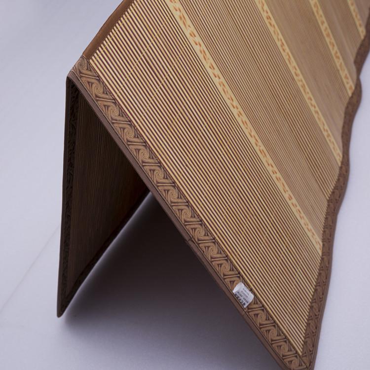 凉席竹凉席学生宿舍双面折叠0.9米单人床席子0.8m双人床1.2米1.5m