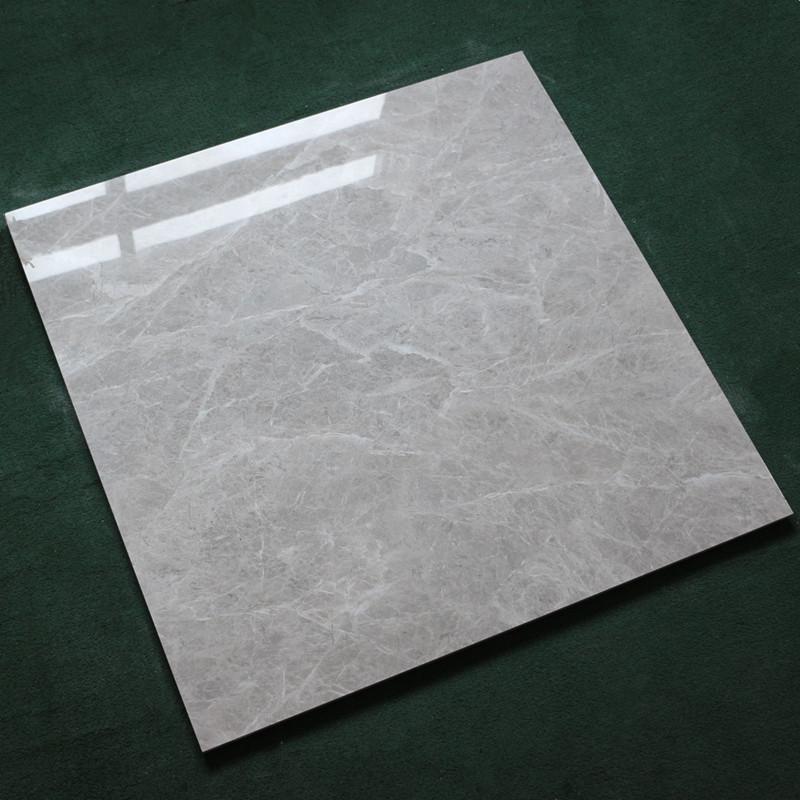 灰色全抛釉瓷砖客厅地砖800X800大厅背景墙砖 卧室阳台厨房地板砖