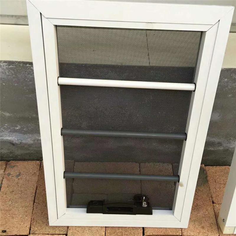 阳台纱窗订制铝合金推拉平移防蚊纱窗金刚网纱窗纱门