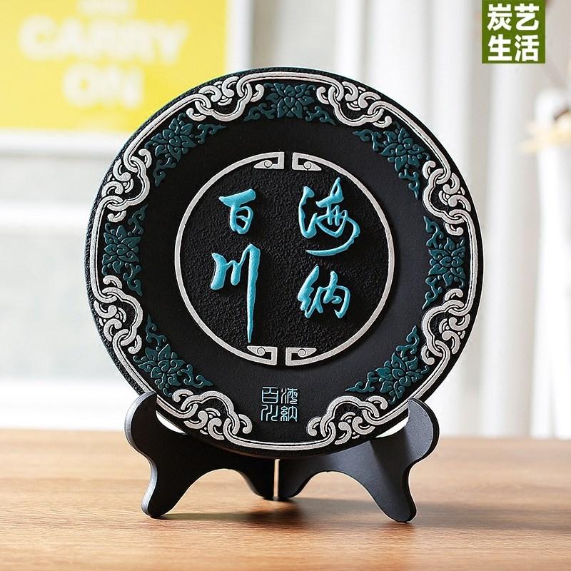 新中式摆件创意家居工艺品家里装饰家庭摆件书柜装饰品电视柜摆设