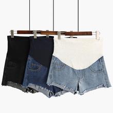 夏装 时尚 潮妈外穿春装 孕妇牛仔短裤 子夏季薄款 孕妇裤 春秋打底裤