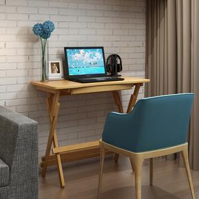 竹制简易折叠桌楠竹升降学习桌子儿童书桌课桌简约现代整装电脑桌