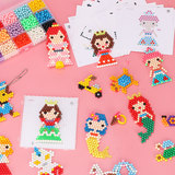 Water fog magic beads children's puzzle handmade creative pattern boys and girls DIY educational toys 3-6-13 years old