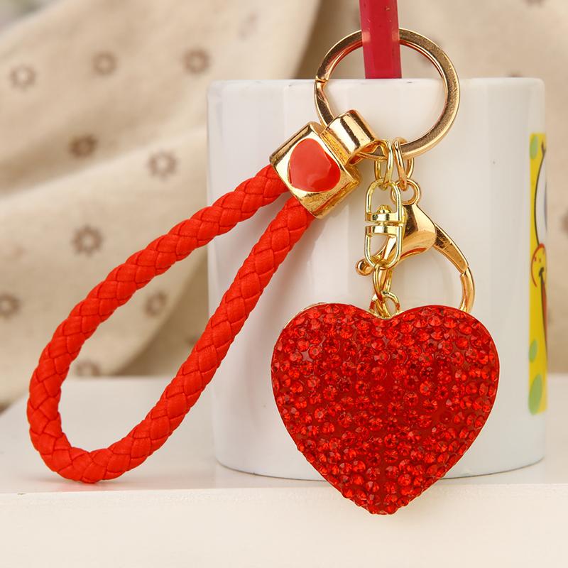 汽车钥匙扣爱心