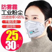防尘口罩透气不可清洗易呼吸工业粉尘PM2.5甲醛灰粉防毒雾霾男女图片