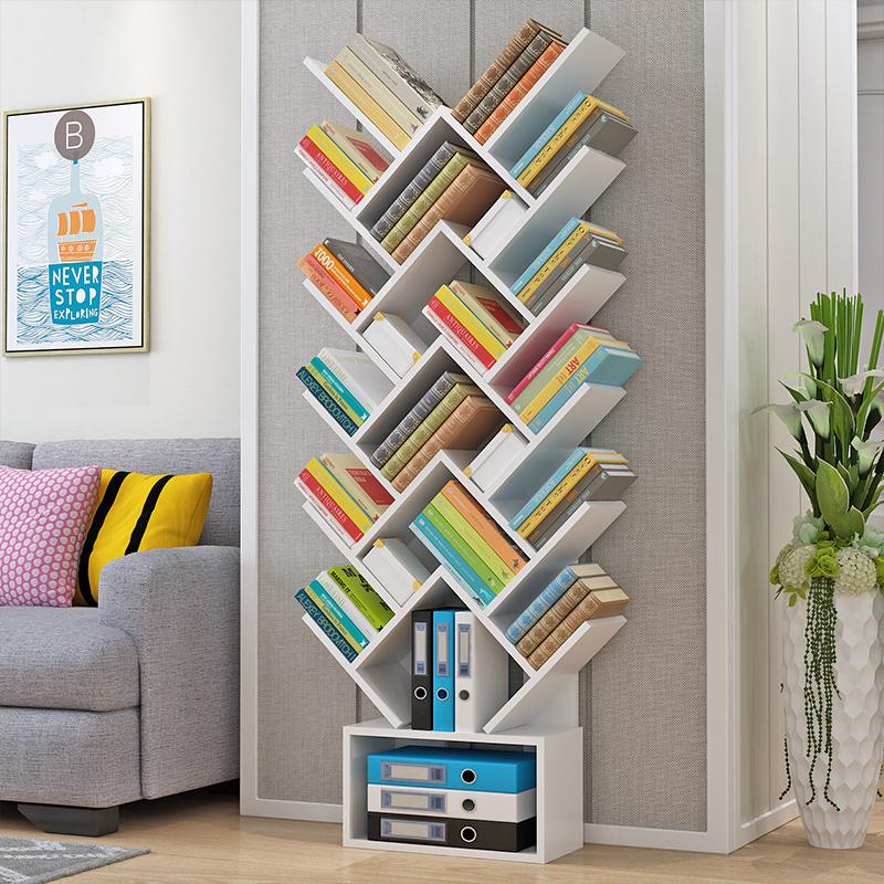 实木质书架