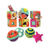 比乐B.toysABC soft cloth building blocks function ball combination children's letters cognitive puzzle early education toys