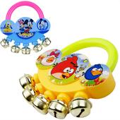 婴儿玩具0 1岁益智玩具新生儿0 6个月宝宝玩具幼儿手摇铃铃铛