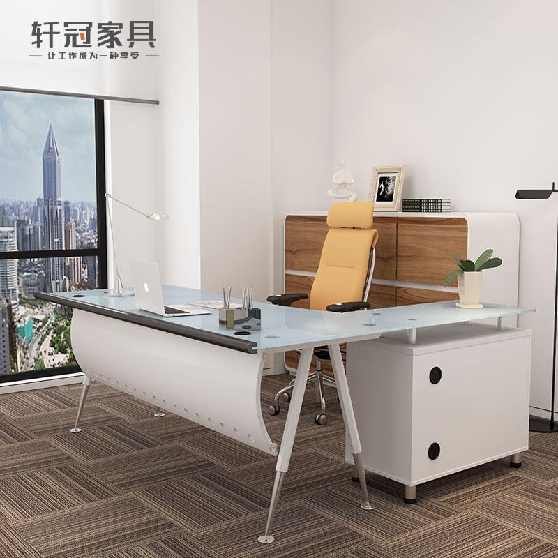 办公桌 玻璃时尚 老板