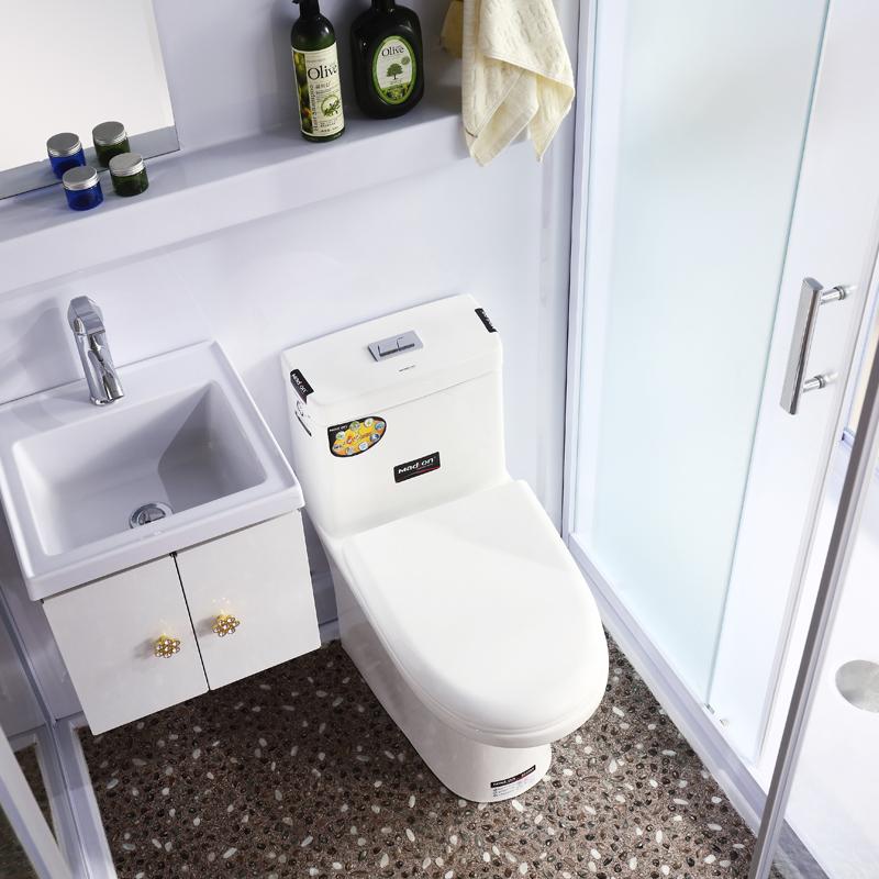 整体淋浴房卫生间家用一体式简易移动洗澡间玻璃浴室厕所户外
