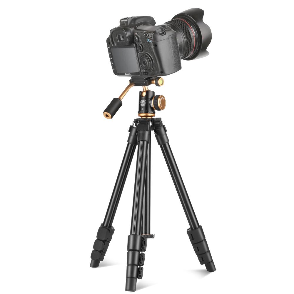 轻装时代Q160S单反相机三脚架摄影便携微单手机自拍直播三角支架