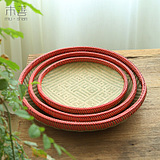 wood good hand weaving bamboo bamboo sieve dustpan bamboo products bamboo weaving vegetable basket basket sieve bamboo weaving bamboo fruit drop round seive