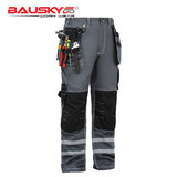 bauskyddB114 Bao Shiji multi-pocket protective reflective strip tool men's trousers cotton autumn and winter electrician overalls
