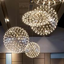 吊灯大水晶单个圆形小吊灯卧室鸟巢灯餐厅过道三头吊灯楼梯酒店灯