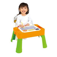 Japanese bread superman educational toy large magnetic graffiti writing board painting table