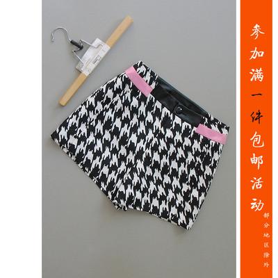 包邮倪[H27A-403]专柜品牌正品新款女士女裤休闲短裤子0.19KG