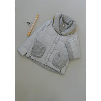 舸[E226-608]专柜品牌2295正品羊毛厚外套女装羽绒服0.88KG