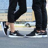 休闲情侣鞋 透气跑鞋 Tanjun跑步鞋 气垫运动鞋 耐克男鞋 女鞋 2018新款图片