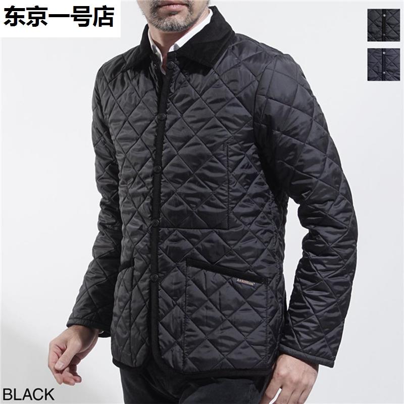 日本代购 英国 LAVENHAM 2018冬 男英伦涤纶绗缝棉衣外套J
