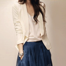 Korean version of OL professional small suit in spring 2009 Chiffon self-cultivation suit short jacket women's large-scale self-cultivation trend