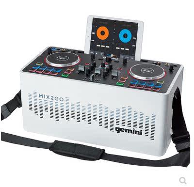手机DJ打碟机 DJ控制器 MIDI 控制器电脑打碟机多功能内置声卡
