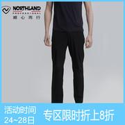 诺诗兰19新款快干裤男轻量透气耐磨登山弹力户外长裤GQ085A11