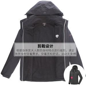 诺诗兰秋冬户外男式保暖防水防风三合一旅行冲锋衣 GS065515
