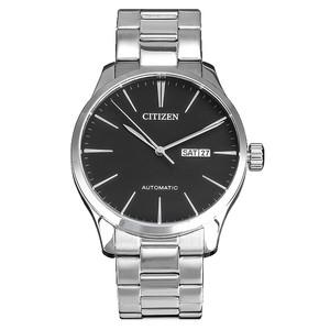 原装进口正品西铁城手表简约钢带商务自动机械男表 NH8350-83E
