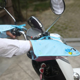 Electric battery car sunscreen gloves summer motorcycle tram windshield set UV protection waterproof summer handle