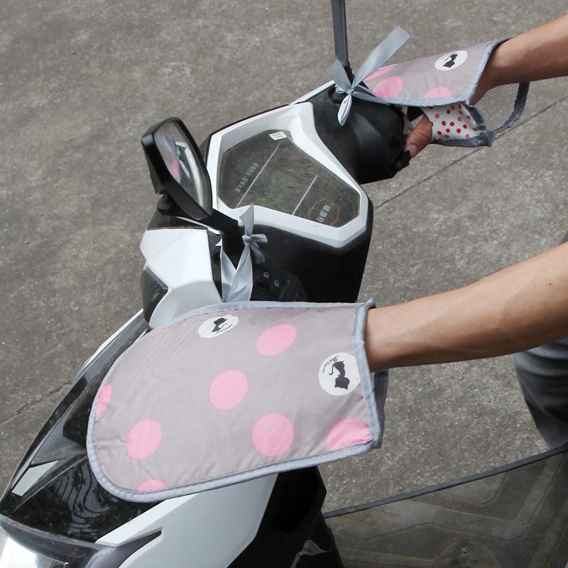 多层隔热夏季电动车防晒手套电瓶车把套防水防紫外线