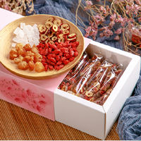 3 boxes longan red jujube tea eight treasure tea rose tea combination health tea small bag fruit tea female five treasures