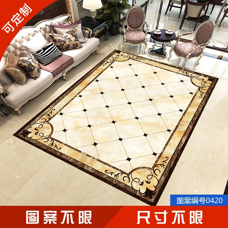 地板贴客厅3d立体