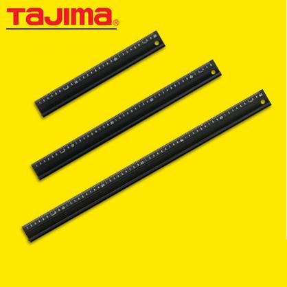导向尺tajima田岛铝合金直尺美工尺30 45 60 100厘米绘图工具防滑