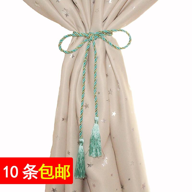 窗帘绑绳简约