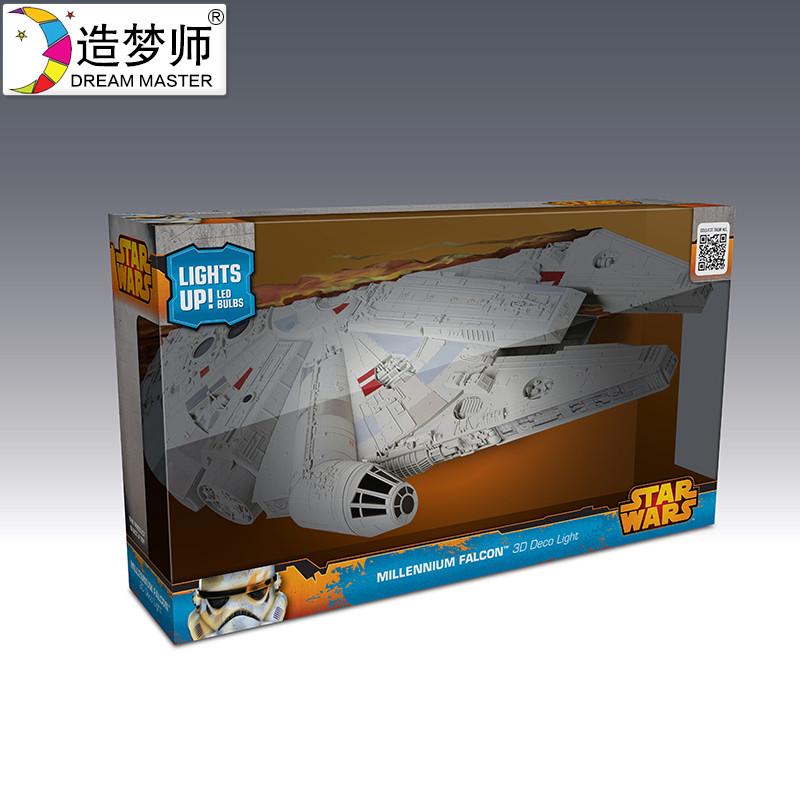 造梦师 星球大战正版装饰壁灯BB8达斯维达光剑床头灯 创意礼品