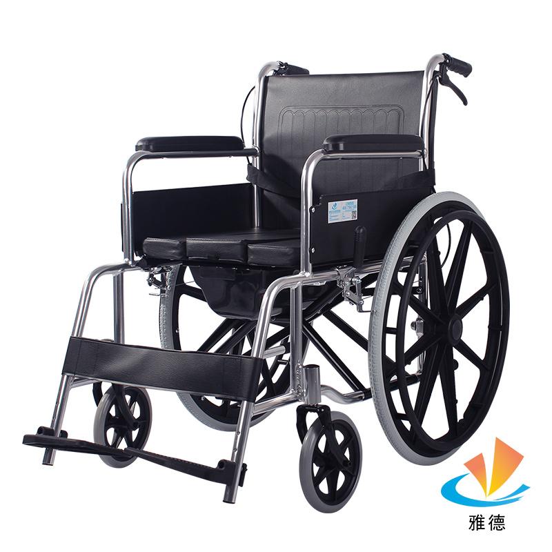 马桶轮椅车