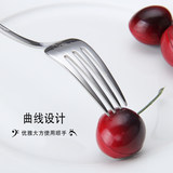 Longway 304 stainless steel fork, family children cartoon 12 zodiac dessert salad fork, creative 2019