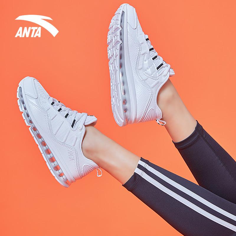 安踏运动鞋女鞋子2019新春季官网品牌60th纪念款气垫m2k跑步鞋女