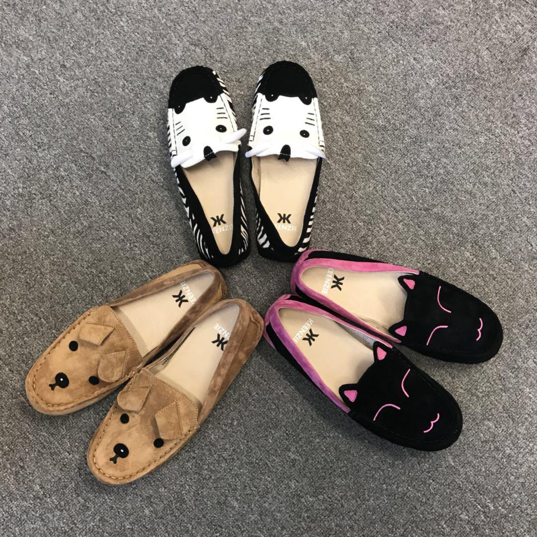 动物平底鞋
