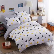 四件套纯棉床上用品被套床单1.5m1.8床韩式风3三件套1米2一8八5五